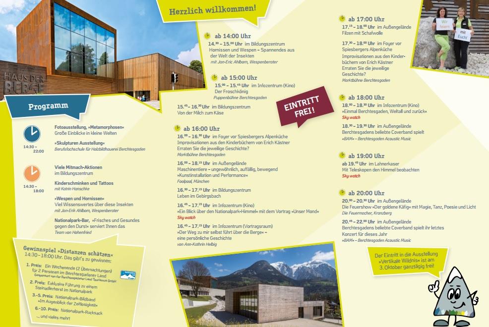 Programm Haus der Berge Fest