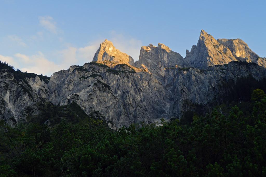 Die Ramsauer Dolomiten im Klausbachtal