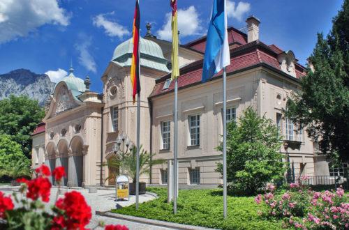 Das Königliche Kurhaus der Alpenstadt Bad Reichenhall