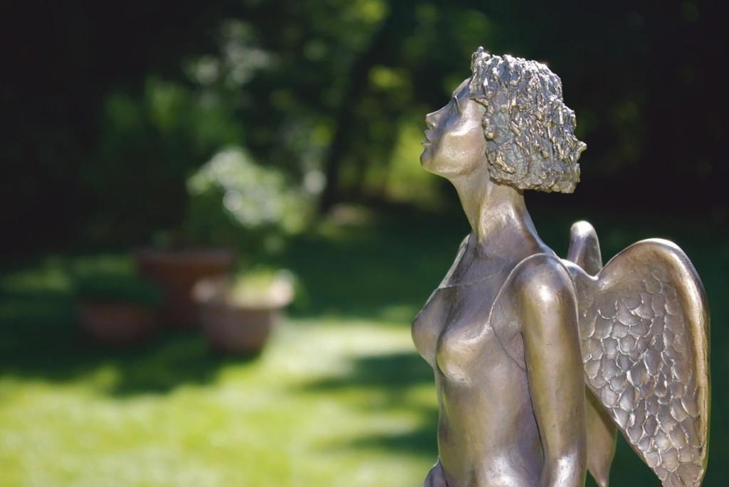Arite Karen Wagners engelsgleiche Skulpturen