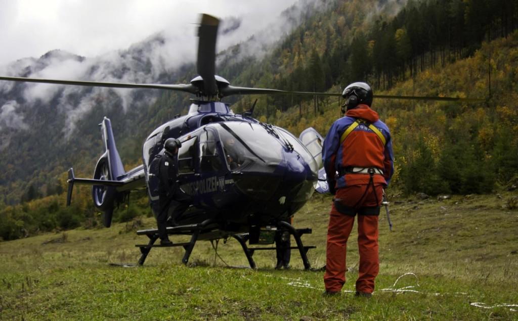 Bergwacht-Hubschrauber © BRK BGL