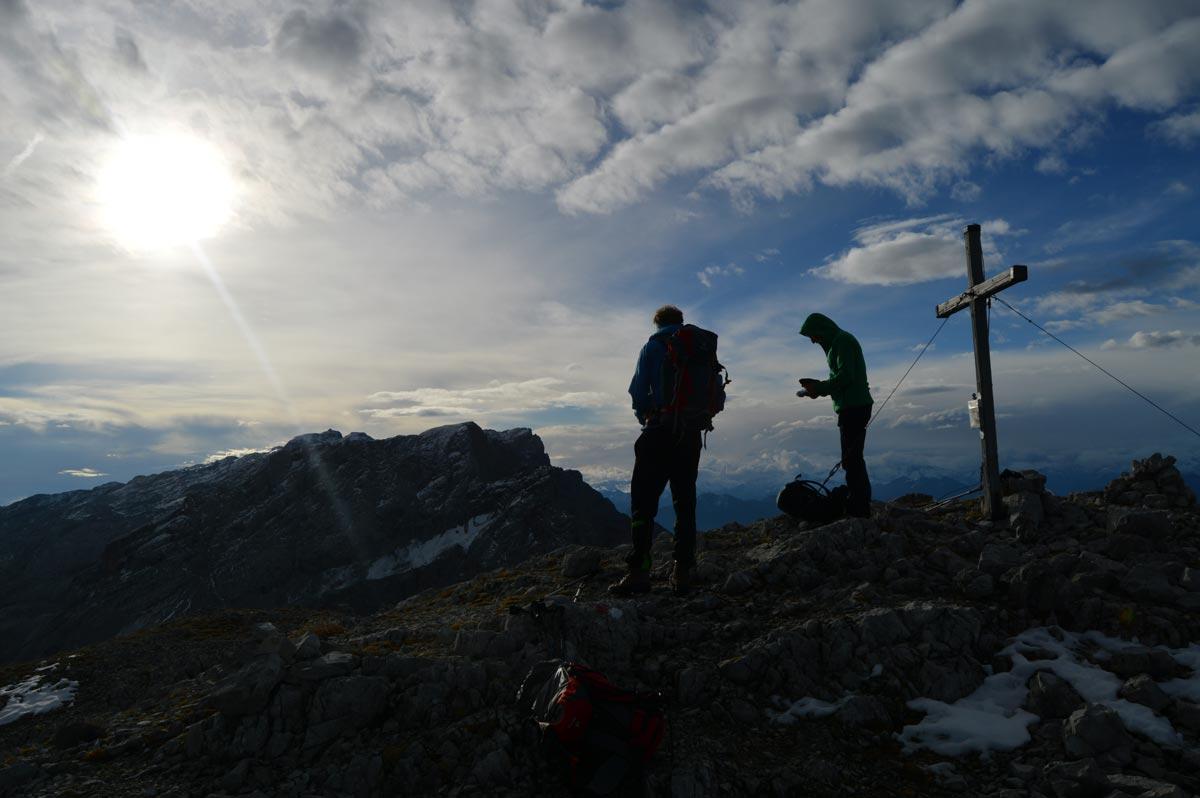 Morgens auf dem Brandhorn (2.610m)