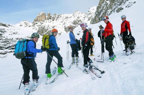 Nachwuchscamp Skibergsteigen © DAV