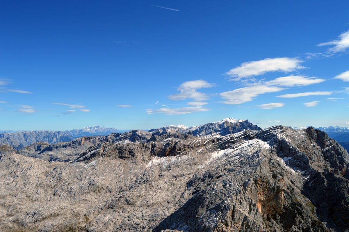 Blick von Schönfeldspitze zum Hochkönig