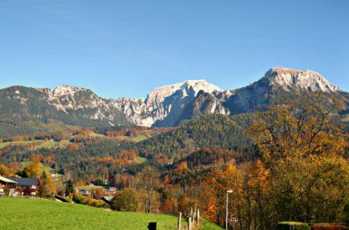 Herbst in schönau am Königssee
