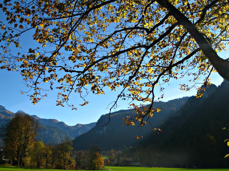 Herbststimmung in Schönau am Königssee
