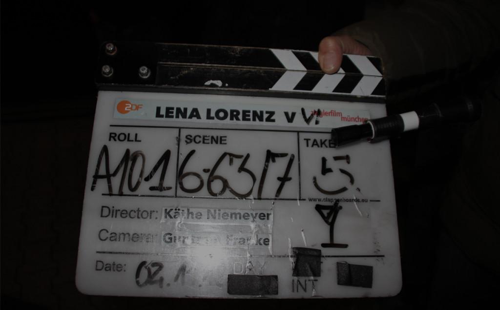 Letzte Klappe beim Dreh der ZDF-Heimatserie Lena Lorenz in diesem Jahr