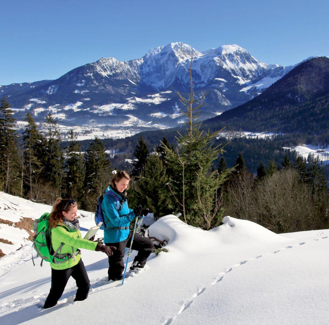Winterwander-Programm Nationalpark Berchtesgaden