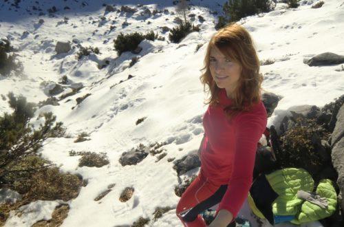Sonne, Schnee und ich