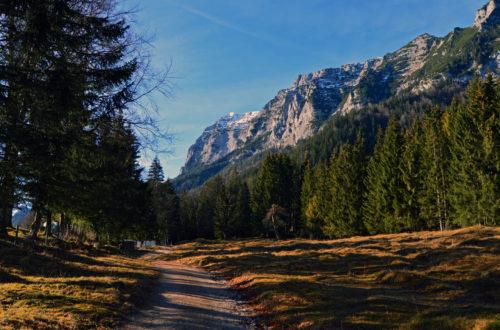 Ausgangspunkt der Wandeurng: Die Fernsebner Tratte