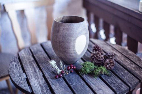 Hohlform Vase © Herzflimmern - Nadine-Schachinger