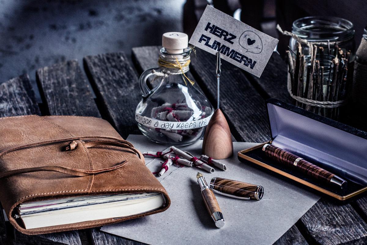 Stiftehalter von Ginger Wood © Herzflimmern - Nadine-Schachinger-