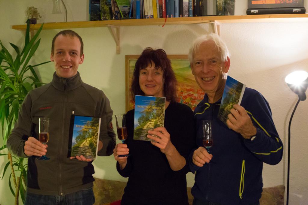 Autoren und Trailrunner: Steve Auch, Brigitte Glatz-Pritttwitz, Dr. Michael Prittwitz