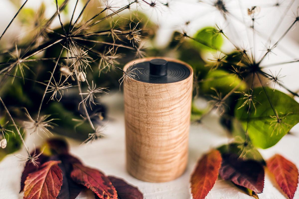 Ginger wood-Dose © Herzflimmern - Nadine-Schachinger