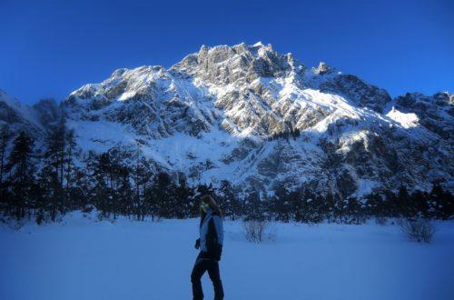 große Berge - kleine Ann-Kathrin