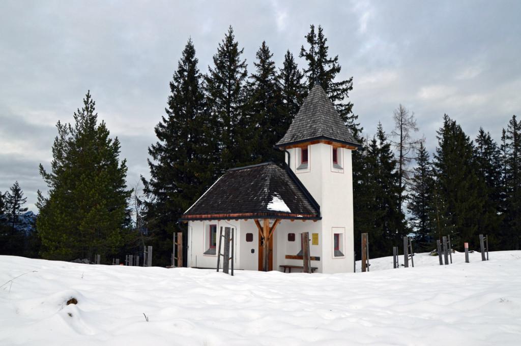 Kapelle des Heiligen Bernhard von Aosta auf Kühroint