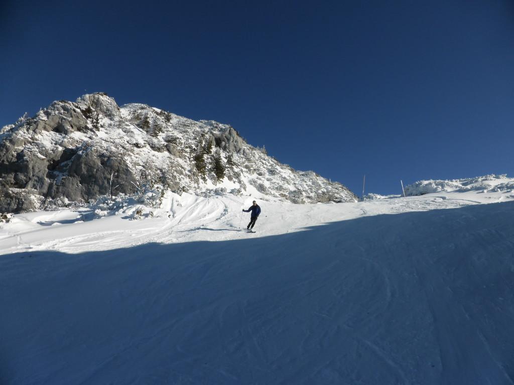 Skiabfahrt Untersberg