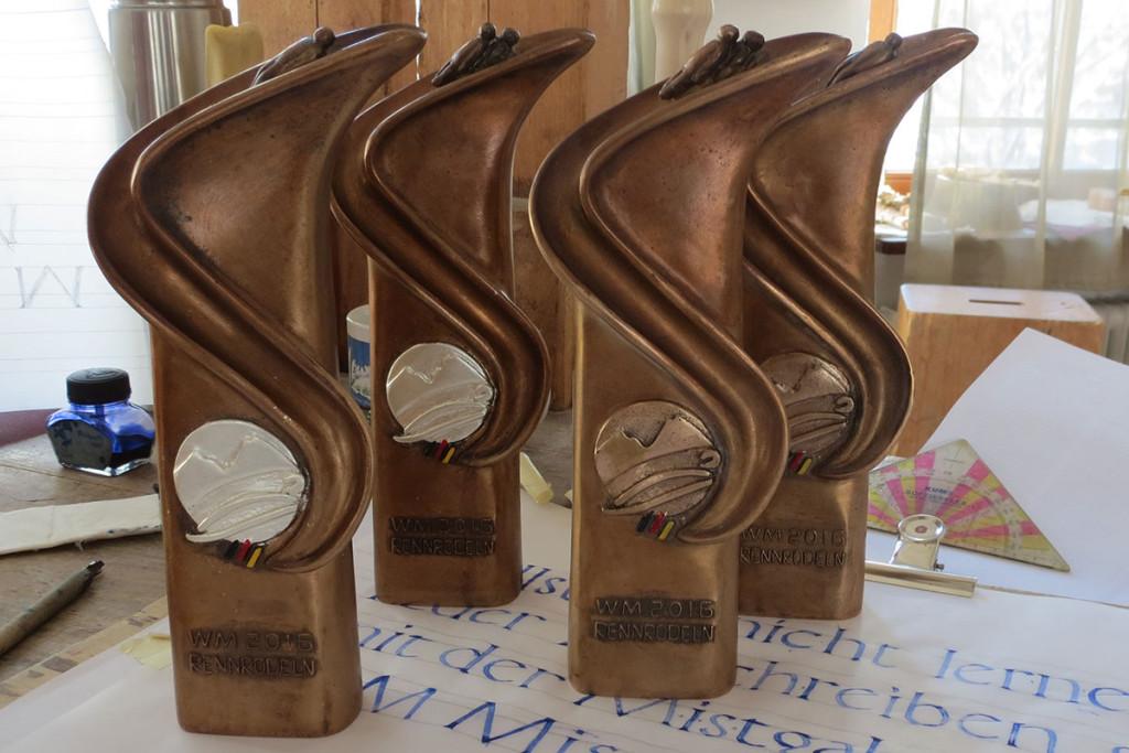 WM Bronzen von der Schnitzschule Berchtesgaden