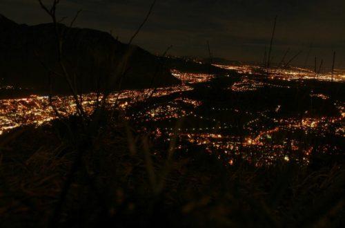 Nachtstimmung auf dem Dützenkopf © Max Nikelski
