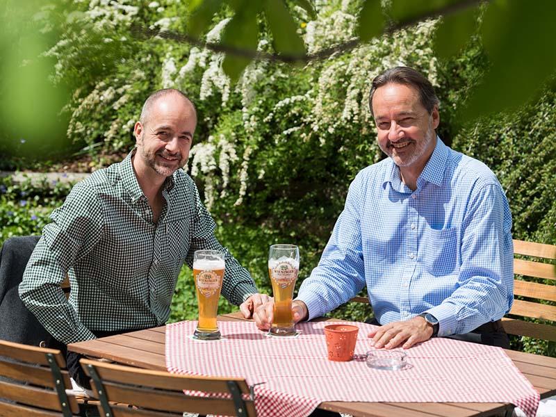 Franz und Hannes Lichtmannegger | Berghotel Rehlegg