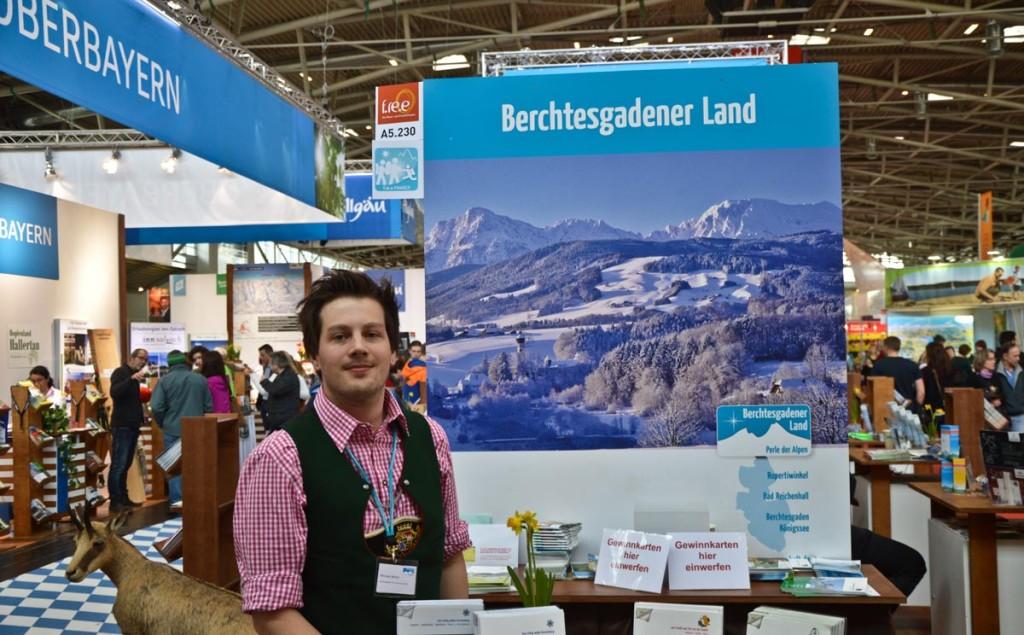 Michi Walch BGLT auf der Reisemesse f.re.e München