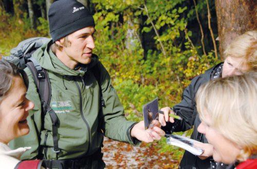 Mit dem Nationalpark Ranger unterwegs