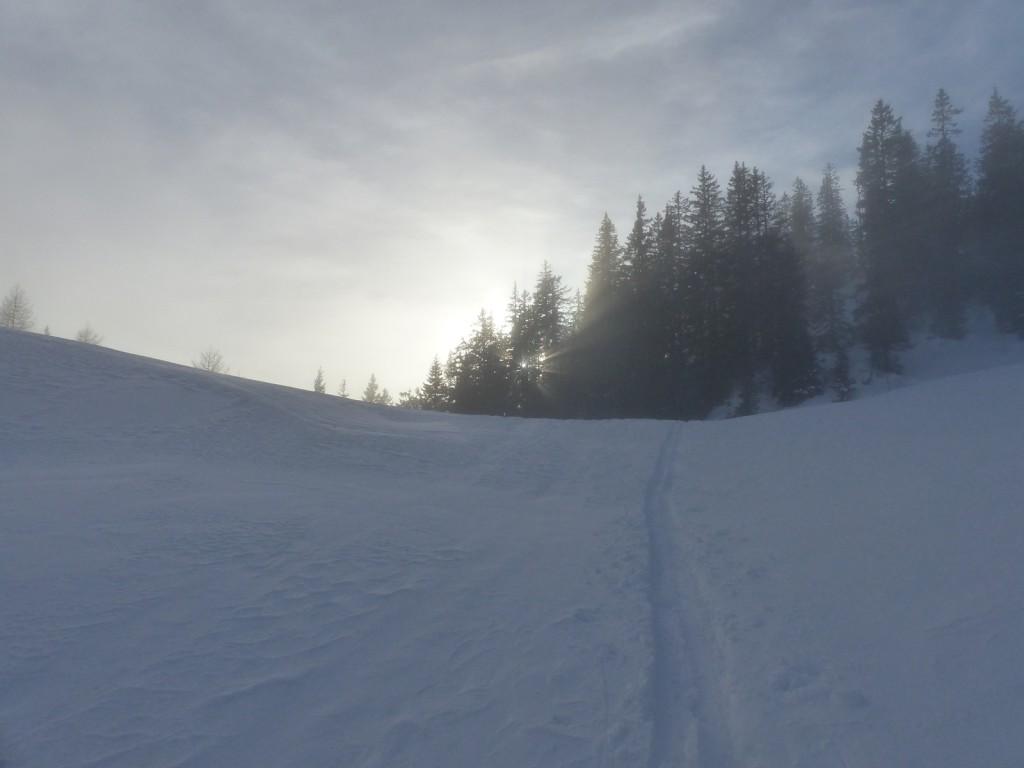 Rückkehr in das Nebelmeer über Lohmais