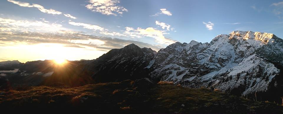 Sonnenaufgang Ahornbüchsenkopf