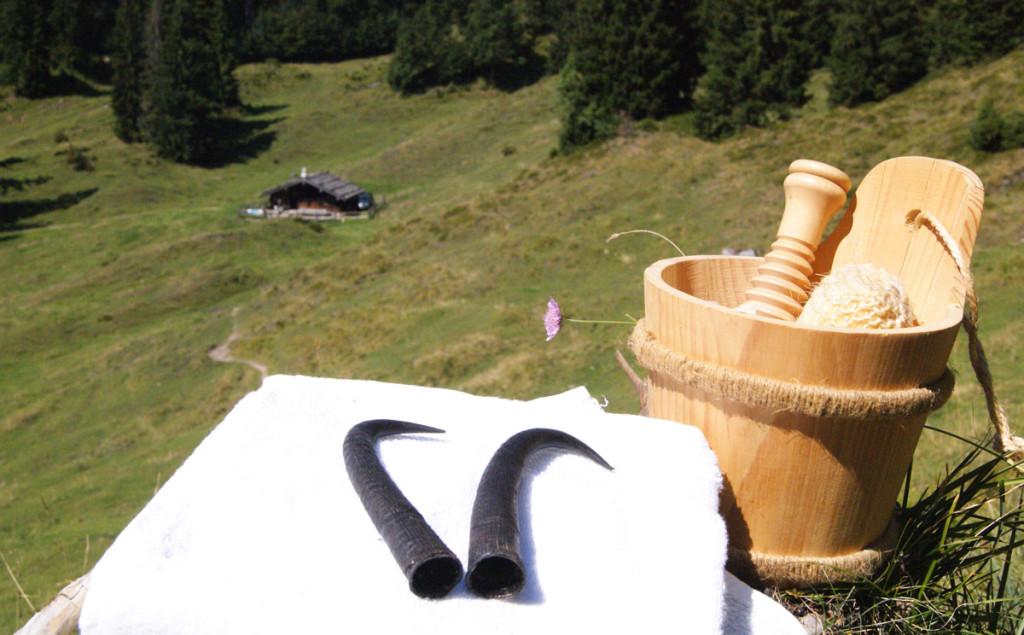 Gamshornmassagen © S. Barmbichler  Kurmittelhaus der Moderne Bad Reichenhall