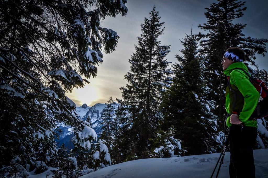 Winterwanderung auf den Toten Mann