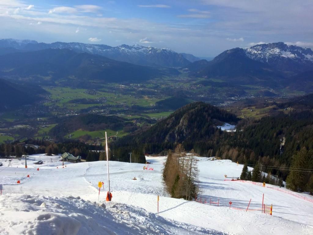 Frühlingsgefühle: Weiße Berge - grüne Täler