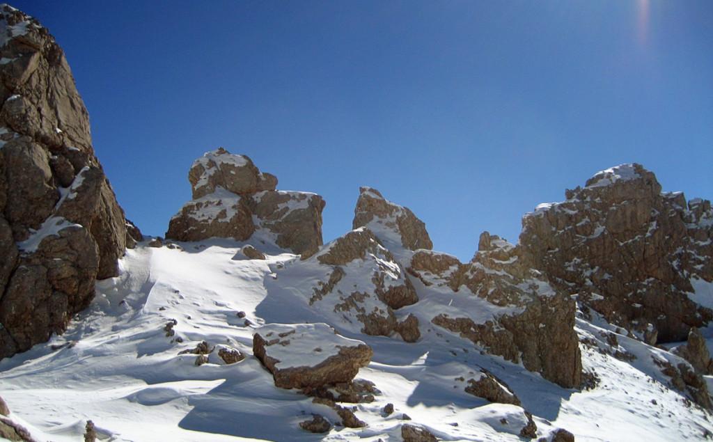 Die Ledererköpfe| Skitour Steinernes Meer