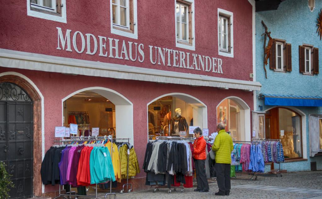 Das Modehaus Unterländer in Berchtesgaden