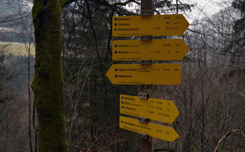 Viele Wanderwege führen an der Kunterweg-Kirche vorbei
