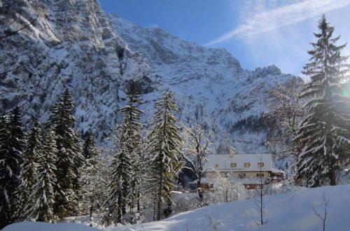 Das Wimbachschloss im Winter