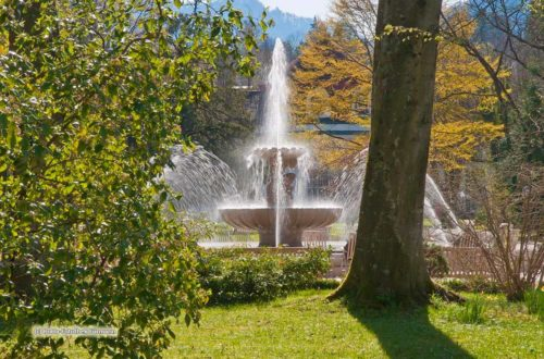 Alpensole Brunnen im Königlichen Kurgarten © RoHa Fotothek Fürmann