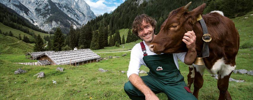 Heimat der Bergbauernmilch: Das Berchtesgadener Land