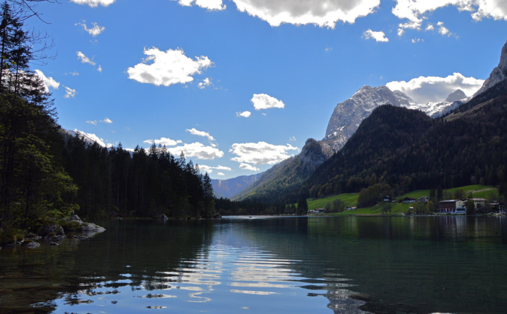 Der Hintersee in Ramsau