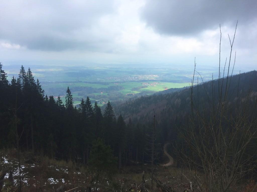 Blick auf Teisendorf