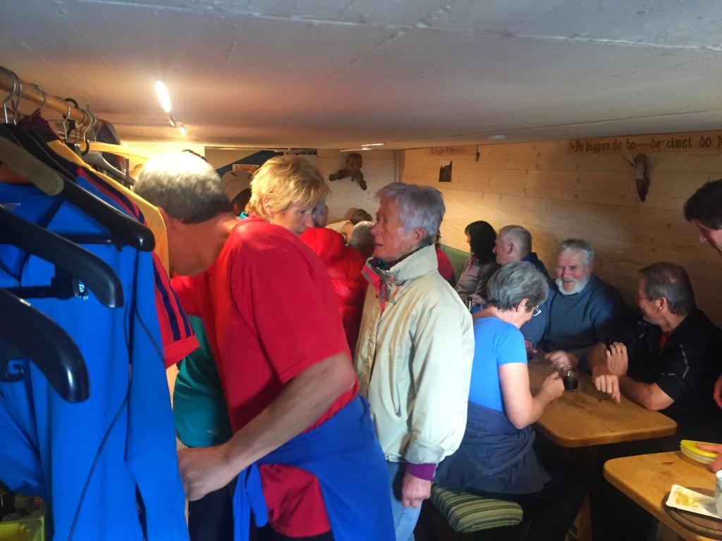 """Die """"Winterstubn"""" wird an den Wochenenden vom Skiclub Teisendorf bewirtschaftet"""