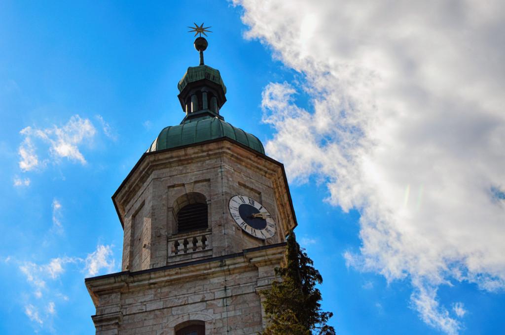 Der Läutturm der Franziskaner Kirche