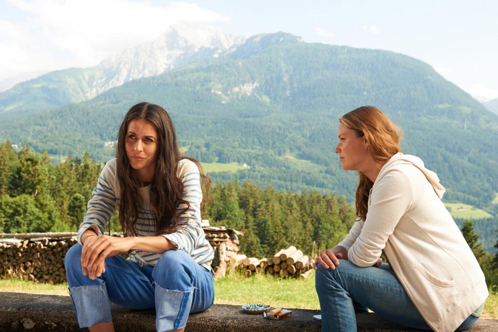 Lena Lorenz (Patricia Aulitzky) und Julia Obermeier (Liane Forestieri) © ZDF Walter Wehner