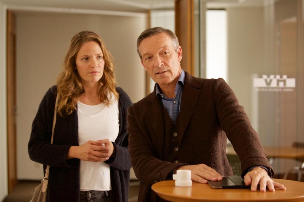 Lena Lorenz (Patricia Aulitzky) und Vinz Huber (Michael Roll) © ZDF Bernd Schuller