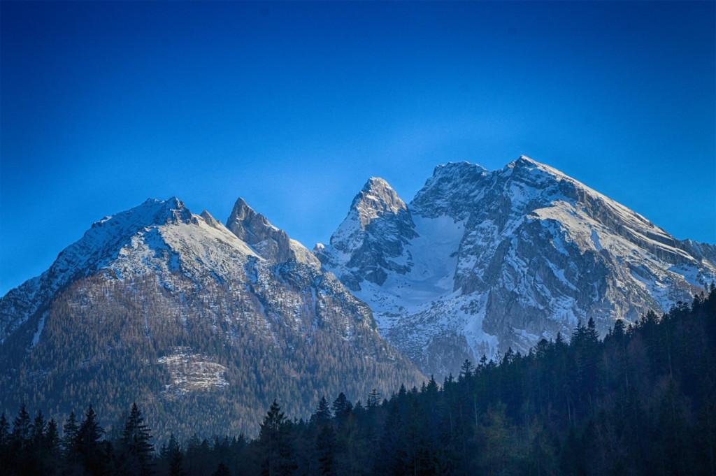 Steinberg, Schärtenspitze, Blaueis, Hochkalter
