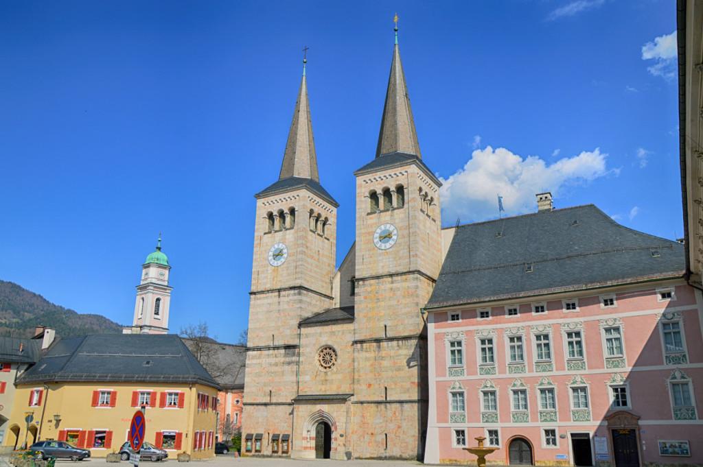 Die Stiftskirche Berchtesgaden