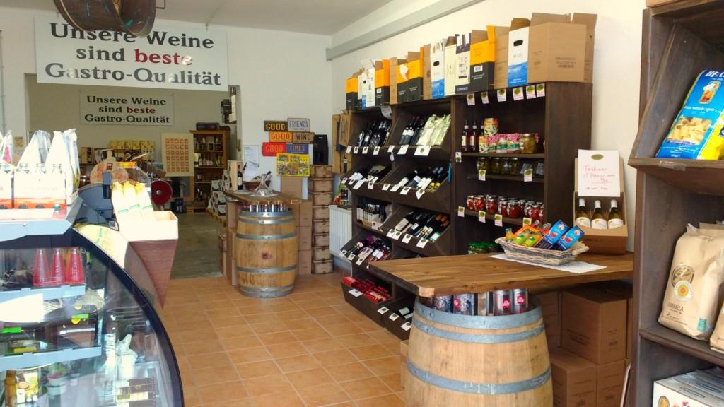 Italienische Feinkost zu vernünftigen Preisen.