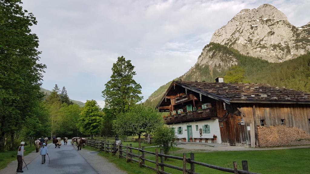 Das Klausbachhaus: Eingang zum Nationalpark Berchtesgaden