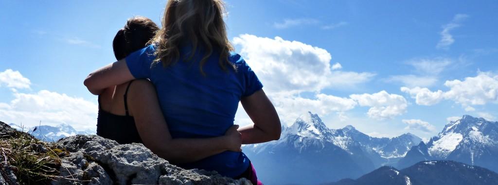 Frauenfreundschaft in den Berchtesgadener Bergen © Ann-Kathrin Helbig