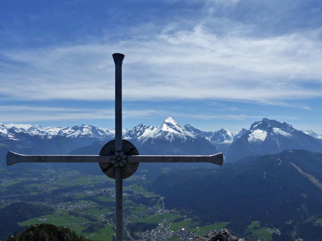 Gipfelkreuz Rauher Kopf © Ann-Kathrin Helbig