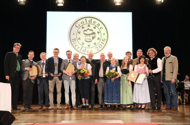Preisverleihung Goldene Bieridee 2016